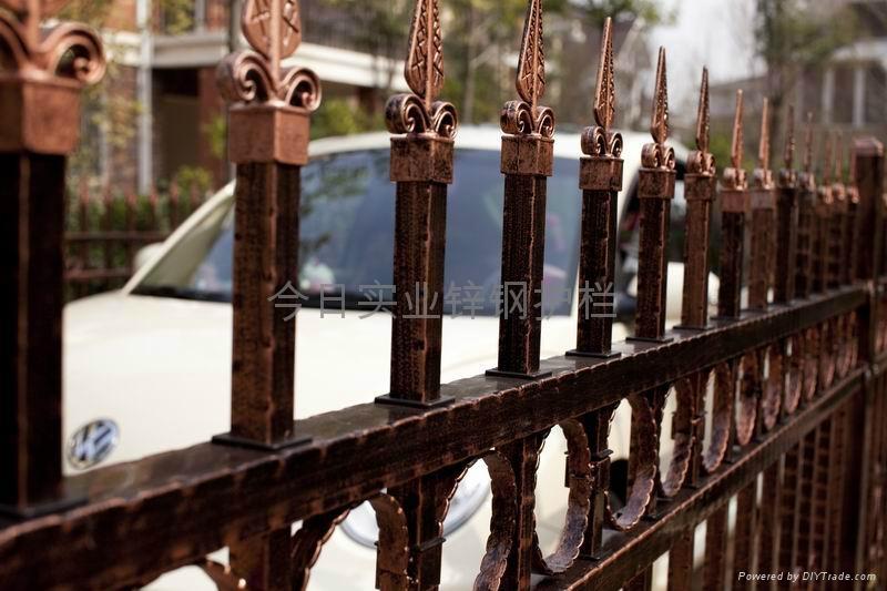 组装式锌钢栅栏 2