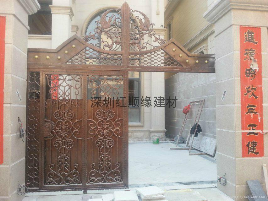 深圳红顺缘锌钢护栏 4
