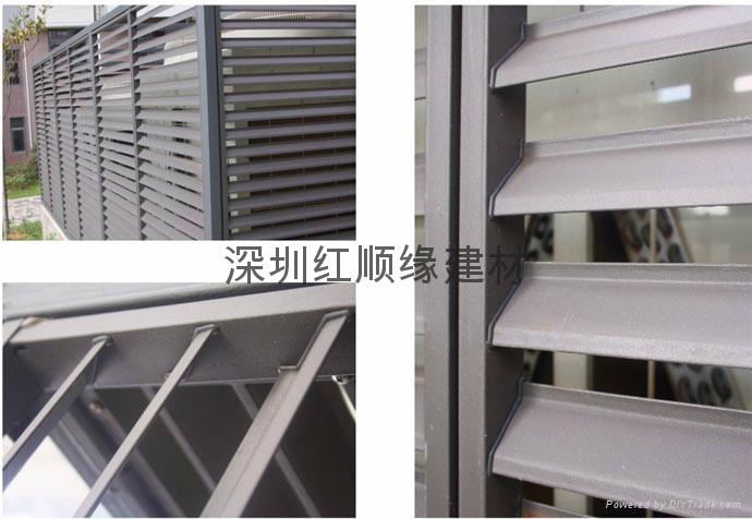 深圳红顺缘锌钢护栏 2
