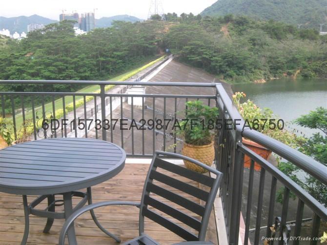 广东茂名锌钢阳台栏杆 4