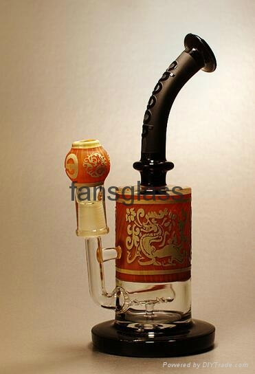 高档玻璃烟枪 4
