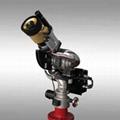 自動尋的智能消防水炮