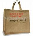 广告礼品棉麻袋;棉麻环保袋;展