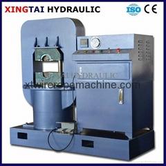 Wire rope hydraulic press machine
