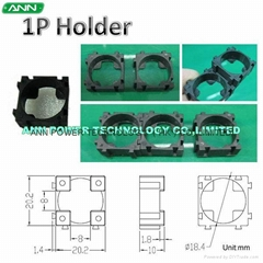 18650 1P Unlimited Expandable Battery Holder