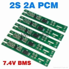 2S 7.4V 2A BMS Used for 7.4V Li Ion Battery Pack