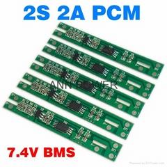 2S 7.4V 2A BMS Used for 7.4V Li Ion