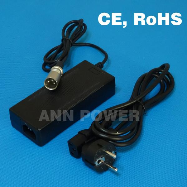 24V 2A Battery Charger Used For 24V Li Ion Battery Pack