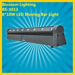 8*10W LED Moving BAR Light (BS-3013) (Hot Product - 1*)