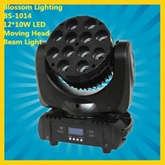12*10W RGBW Quad-Color LED Moving Head Beam Light (BS-1014)  (Hot Product - 1*)