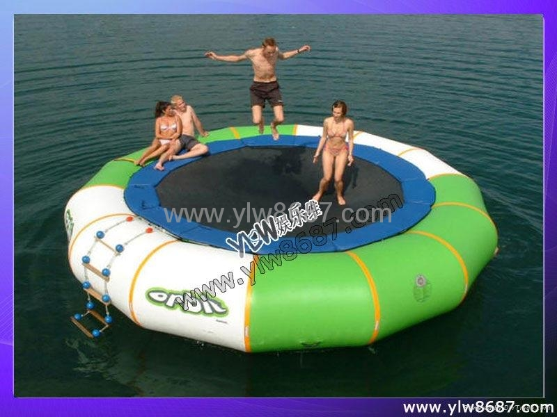 water inflatable trampoline park 1