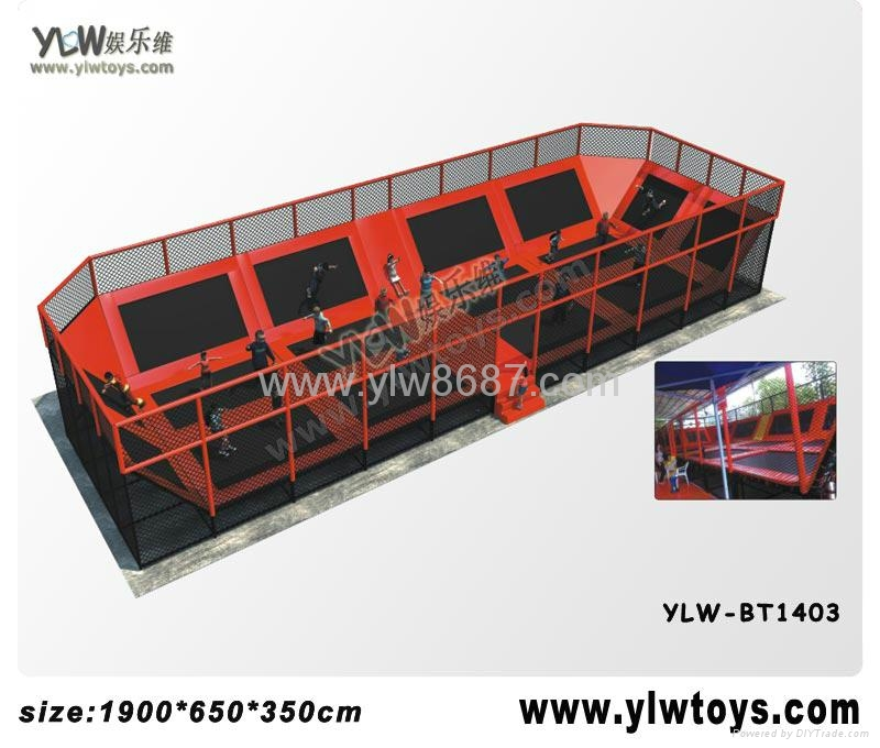 2014 new trampoline park,combination trampoline,sport fitness trampoline 1