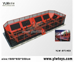 2014 new trampoline park,combination