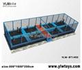 2014 new trampoline park,combination trampoline,sport fitness trampoline 2