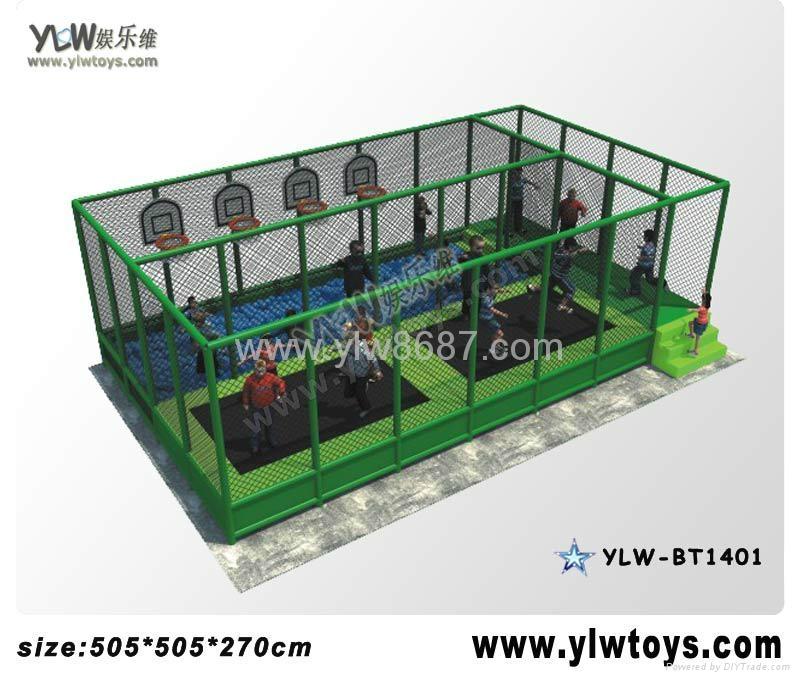 2014 new trampoline park,combination trampoline,sport fitness trampoline 4