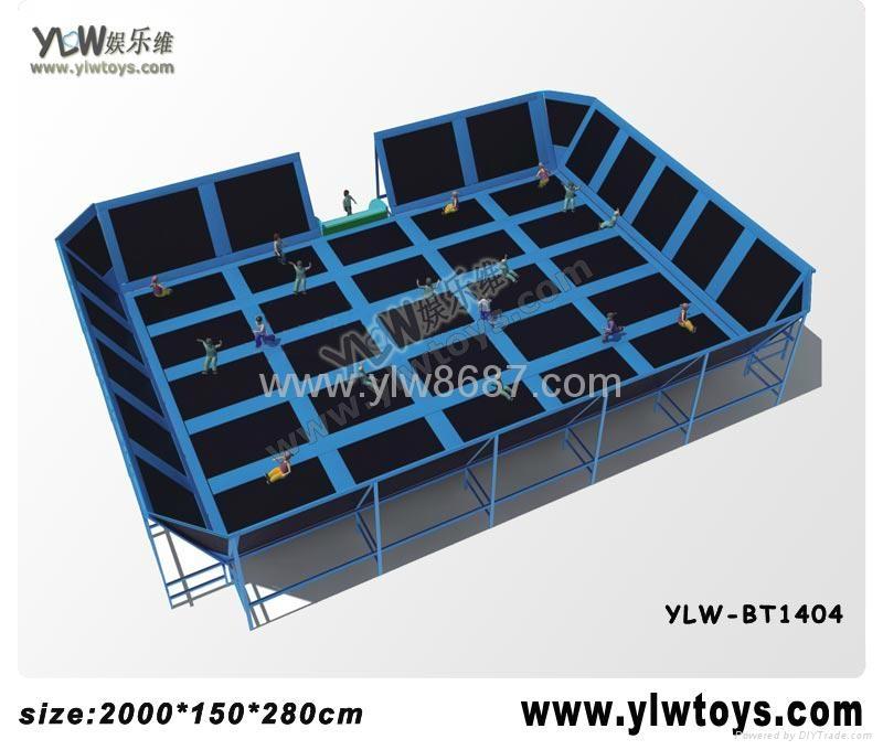 2014 new trampoline park,combination trampoline,sport fitness trampoline 5