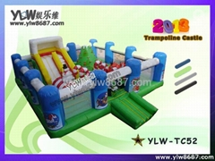 inflatable jumping tramp