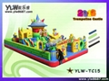 inflatable jumping trampoline,children inflatable bouncer,inflatable jumping bed 2