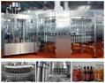Glass bottle CSD filling machine