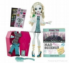 Monster High MAD SCIENCE LAGOONA BLUE Classroom Doll