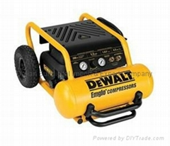 DEWALT 1.6 HP 4.5 Gallon Oil-Free Wheeled Portable Air Compressor