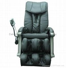 New Electric Shiatsu Massage Chair Recliner Salon Spa Beauty Office Table