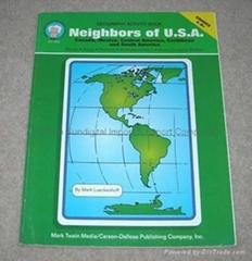 NEIGHBORS OF U.S.A. Geography Activity Book,Teacher Aid