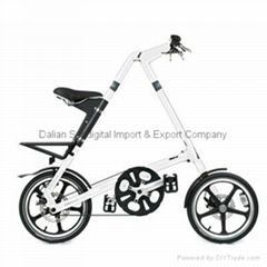 2012 Black STRiDA 5.0 LT Folding Bike