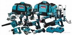 Makita LXT1500 18 Volt 15-Pc Power Tool Combo Tool Kit