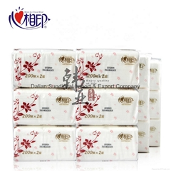 Xinxiangyin RDT200 soft box tissue paper kitchen napkin, toilet paper