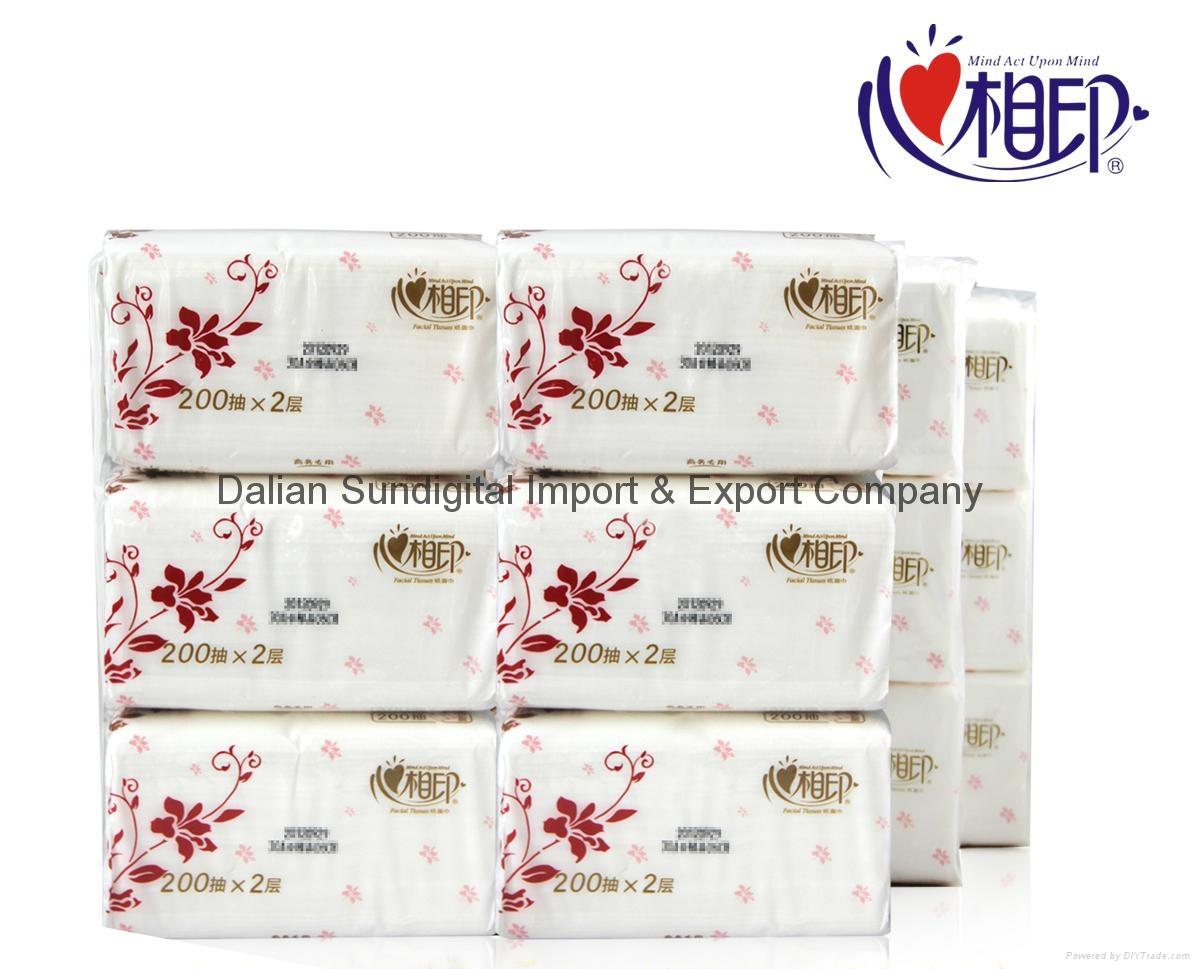 Xinxiangyin RDT200 soft box tissue paper kitchen napkin, toilet paper 2