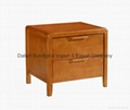 New Nightstand High Grade Furniture Bedside Table made of Rubber Wood