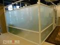 烤漆分格玻璃隔断墙 3