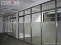 办公室不锈钢玻璃隔断墙 3