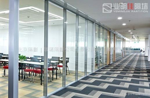办公单层玻璃隔断 3