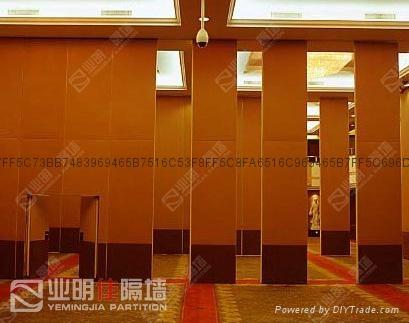 酒店85系列软包移动隔断墙 2