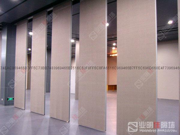 业明佳65系列会议室移动隔断墙 2