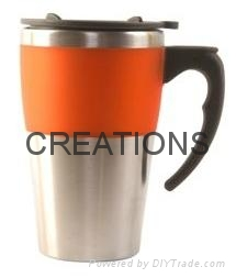 12OZ Double wall Stainless Steel Cofee Mug 3