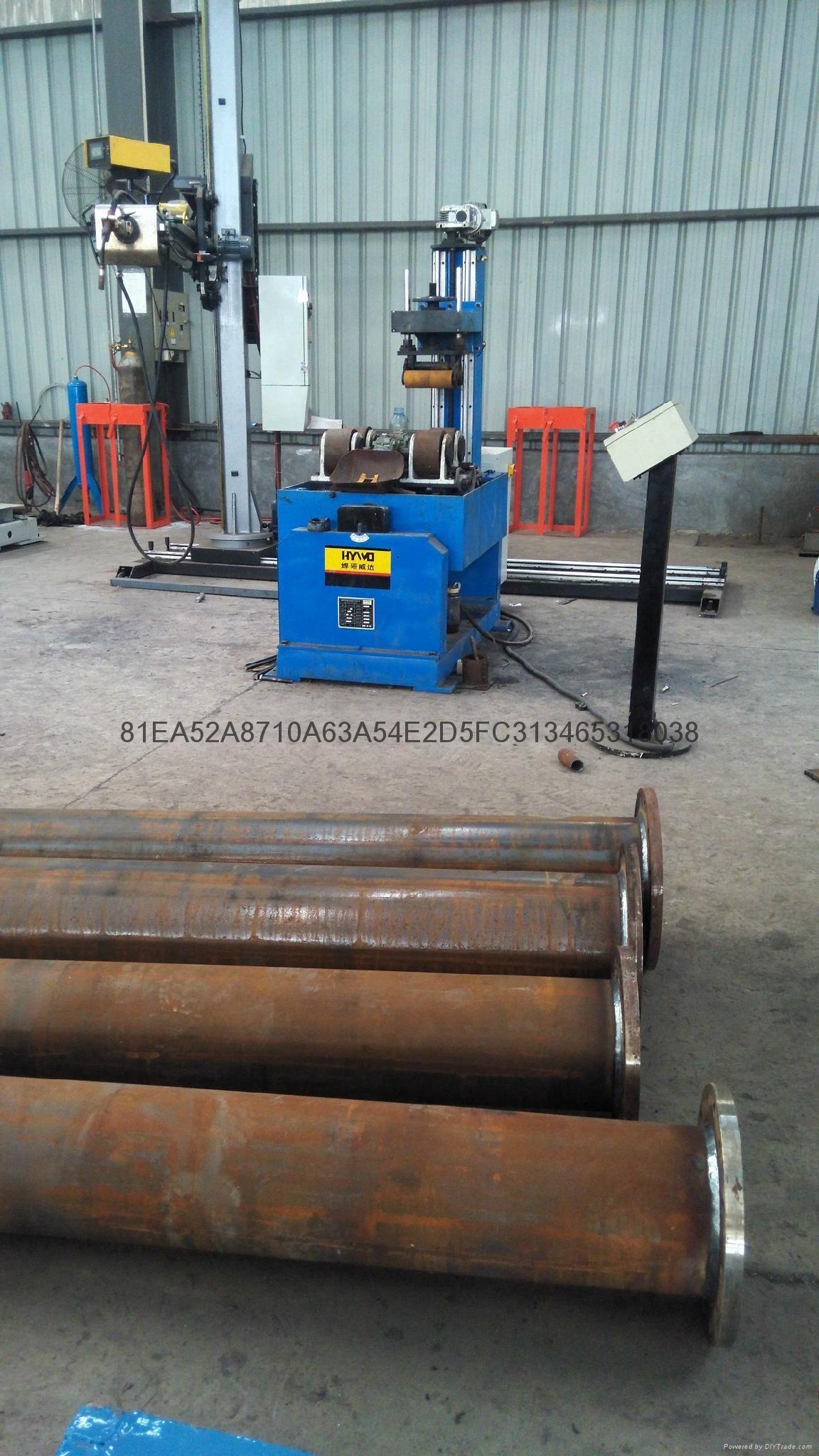Tube and flange welding machine  4