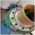 Tube and flange welding machine  2