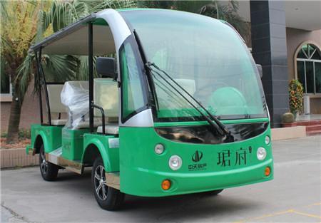 雲南昆明旅遊觀光四輪電瓶接送車 3