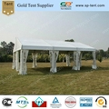 6x9m clear span tent with inner rolled PVC windows 2