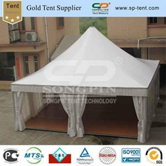 9x9m pagoda wedding tent decorated with