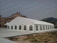 15x20m Curved tent