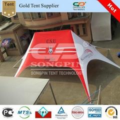 Custom printing 12x17m Twin star tent used for club (0.29cbm/110kgs)