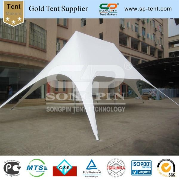 Custom printing 12x17m Twin star tent used for club (0.29cbm/110kgs) 2