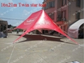 Custom printing 12x17m Twin star tent used for club (0.29cbm/110kgs) 4