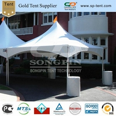 6x6m high peak frame tent used for