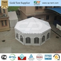 Octagonal PVC Pagoda tent diagonal 10m