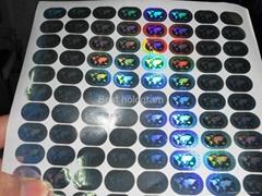 MasterCard hologram stickers